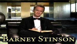 Barney Stinson 350x200